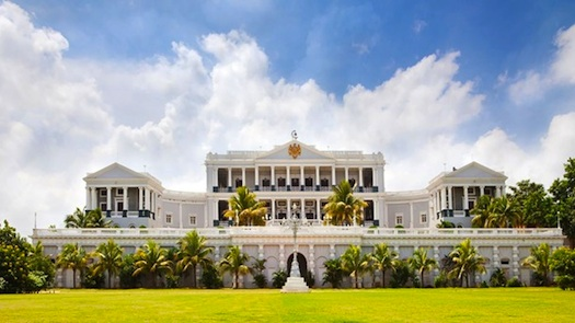 wedding at Baradari Lawns at Taj Falaknuma