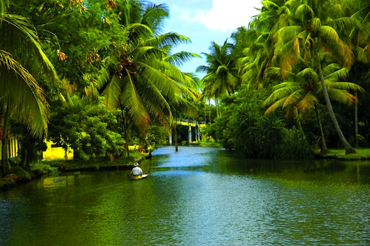 wedding in backwaters of Kerala