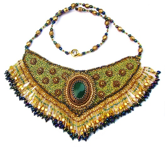 Bib jewelry for Indian wedding
