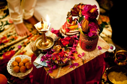 Indian wedding puja items