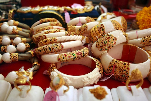 unusual bangles for Indian wedding