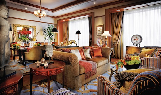 Governor Suite - Living Room at Four Seasons Singapore