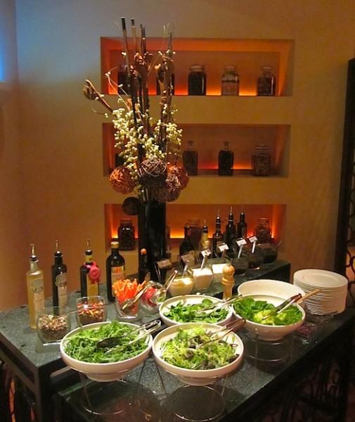 salads at Four Seasons Singapore